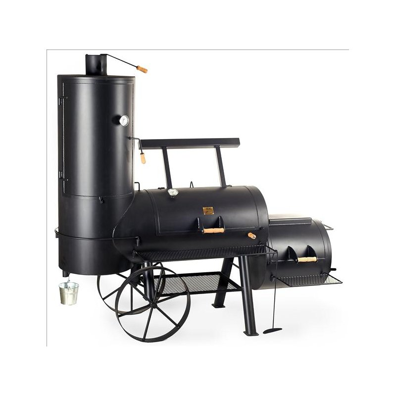 joe 39 s joes barbeque smoker grill 24 chuckwagon catering. Black Bedroom Furniture Sets. Home Design Ideas