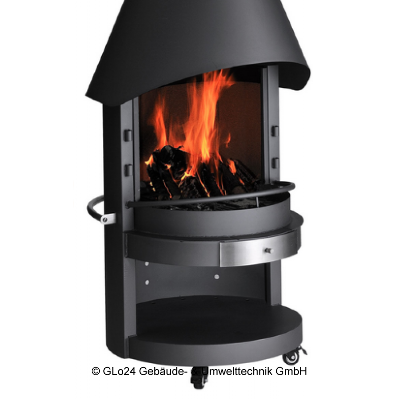 asado garten grill kamin fuego 70 cm grillkamin terassenofen. Black Bedroom Furniture Sets. Home Design Ideas