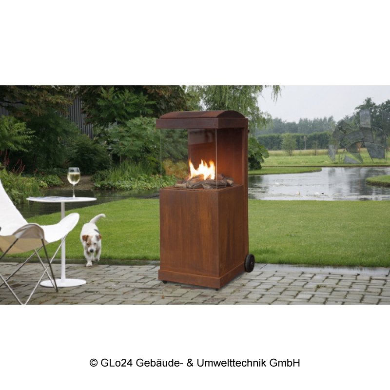 faber grill thebuzz the buzz corten stahl terrassenkamin stahl au. Black Bedroom Furniture Sets. Home Design Ideas