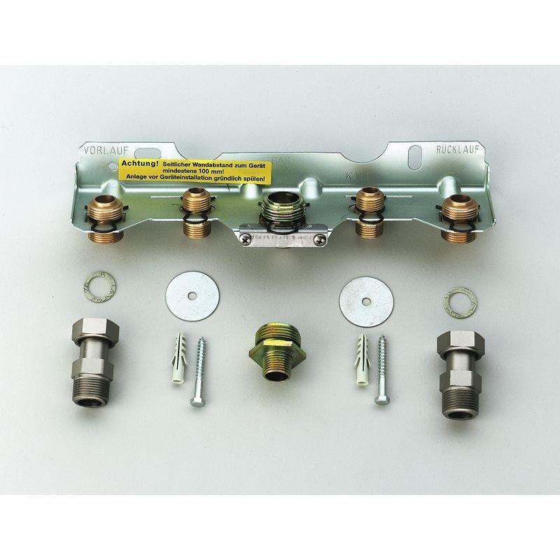 Junkers 7719000660 Installationszubehör Nr. 258 Montageanschlussplatte Erdgas