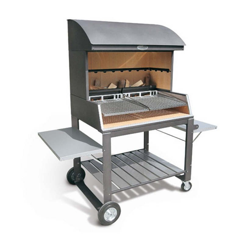 palazzetti gartengrill gaston 90 barbecue stahl grill. Black Bedroom Furniture Sets. Home Design Ideas