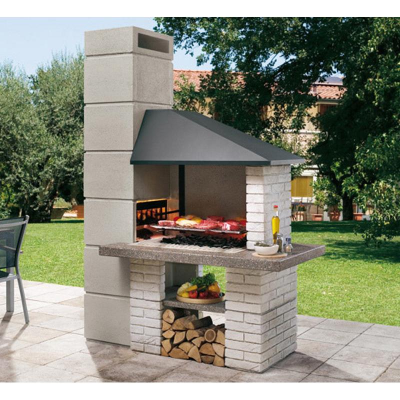 palazzetti gartengrillkamin faro grill rechts barbecue grill. Black Bedroom Furniture Sets. Home Design Ideas