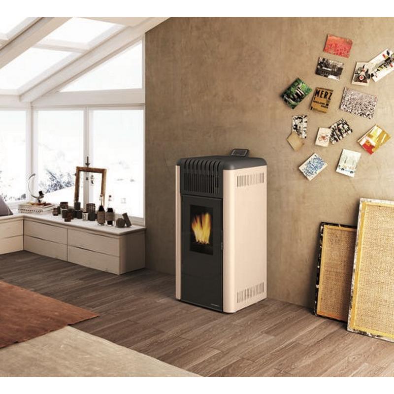 palazzetti pelletofen dani new. Black Bedroom Furniture Sets. Home Design Ideas