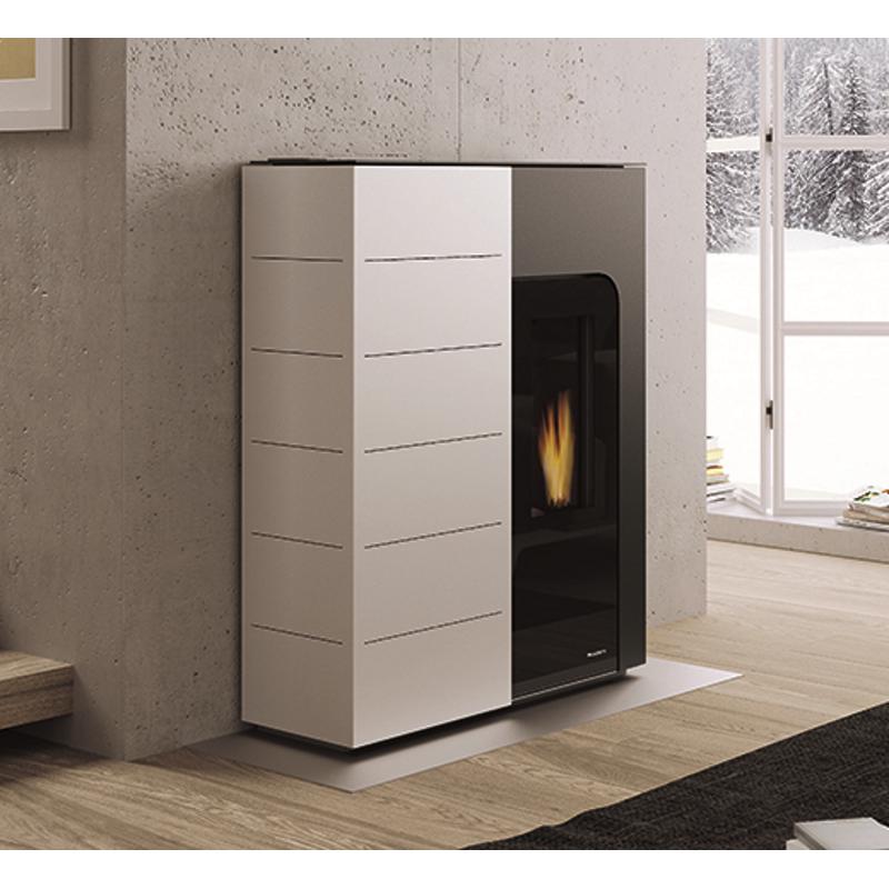 palazzetti pelletofen ginger. Black Bedroom Furniture Sets. Home Design Ideas