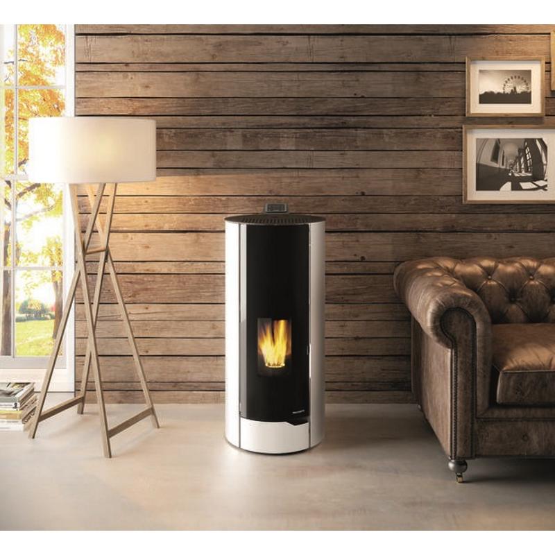 palazzetti pelletofen nina. Black Bedroom Furniture Sets. Home Design Ideas