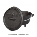 BBQ-Scout CAMP CHEF Dutch Oven DO-5, Gu�eisener Kochtopf