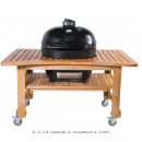 BBQ-Scout PRIMO Teakholz-Tisch f�r OVAL 400 XL