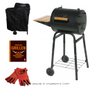 BBQ-Scout Spar Set GRILL´N SMOKE Patio Classic BBQ-Grill, Modell 7420, Cover, Leder Grillhandschuhe und Buch