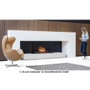 FABER Gaskamin MatriX 3-seitiges Modell 1050/650 III² Log Burner 2.0