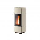 MCZ Pelletofen CURVE Comfort Air Warm Grey Ceramic 8 kW