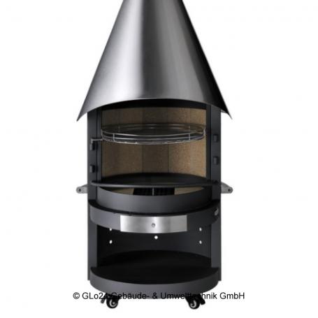 Wundervoll ASADO Garten-Grill-Kamin Fuego - GLo24 für Gebäudetechnik JB72