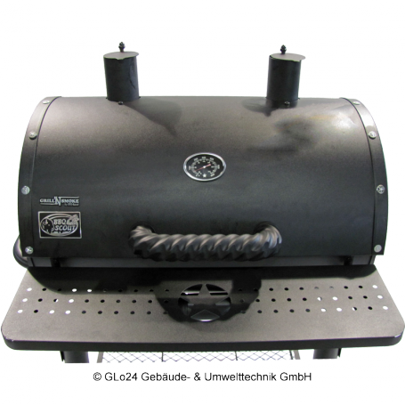 BBQ-Scout GRILL´N SMOKE Barbecue Star BBQ-Grill, Modell 7502