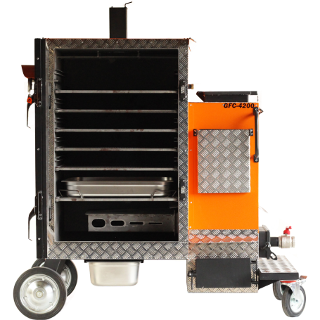BBQ-Scout PROQ Gravity Feed Smoker GFC 4200