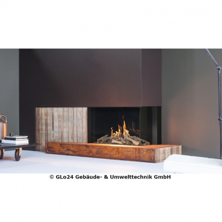 FABER Gaskamin MatriX Eckmodell 1050/650 II² Log Burner 2.0