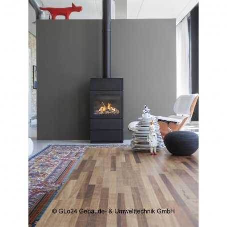 FABER Gaskamin Blokhus Log Burner Gas-Kaminofen