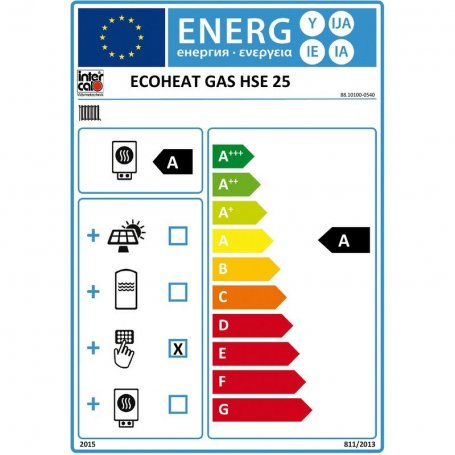 Intercal ECOHEAT Gas HSE 25 88.10100-0540