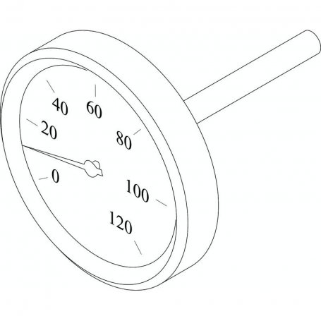 Junkers ET 8738203232 Thermometer D180