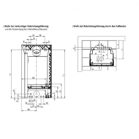 leda kaminofen fondia mit wassertechnik wei emailliert 12 kw kamin g nstig kaufen glo24 f r. Black Bedroom Furniture Sets. Home Design Ideas