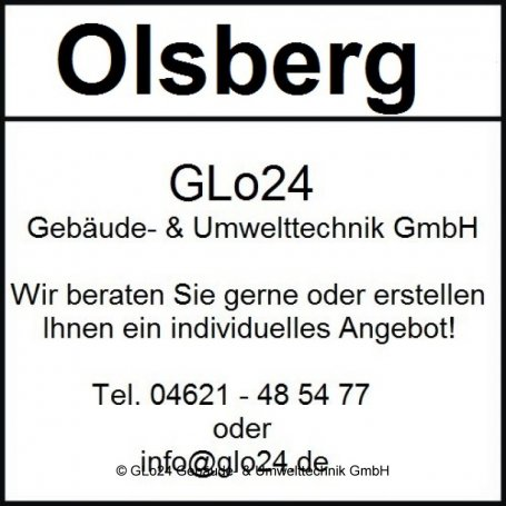 Olsberg Pago Compact Glasscheibe, Glas - 23/3391.2000