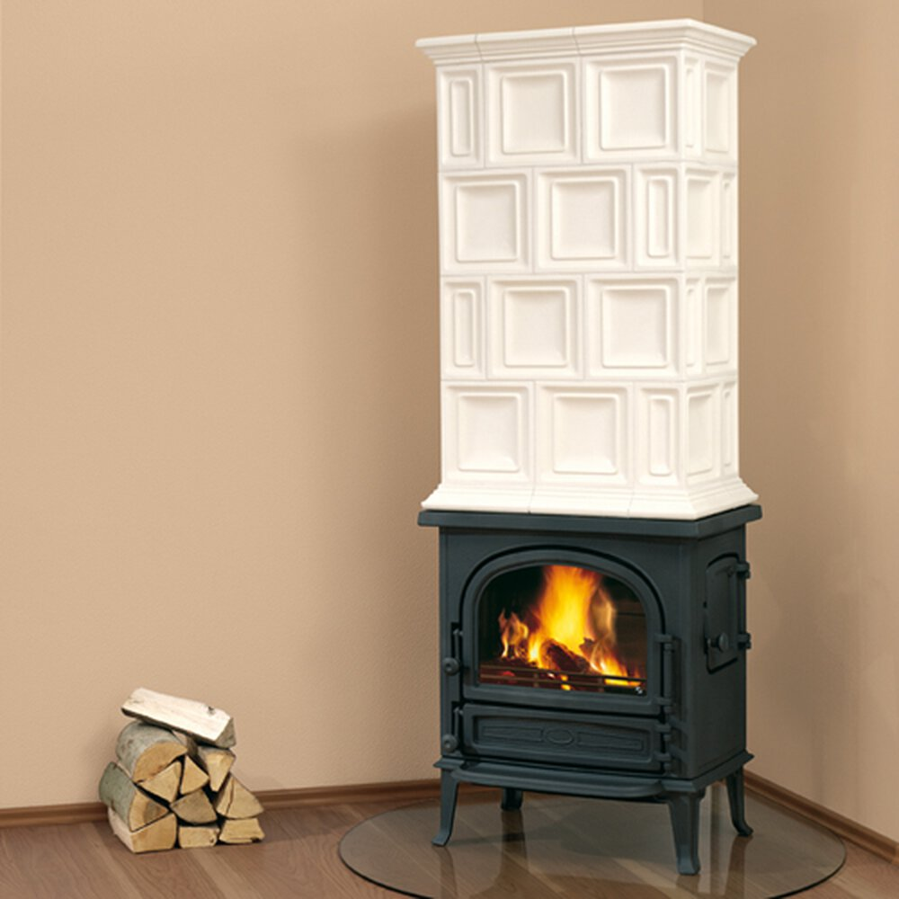 leda kaminofen antigua h schwarz 1003 01230 glo24. Black Bedroom Furniture Sets. Home Design Ideas