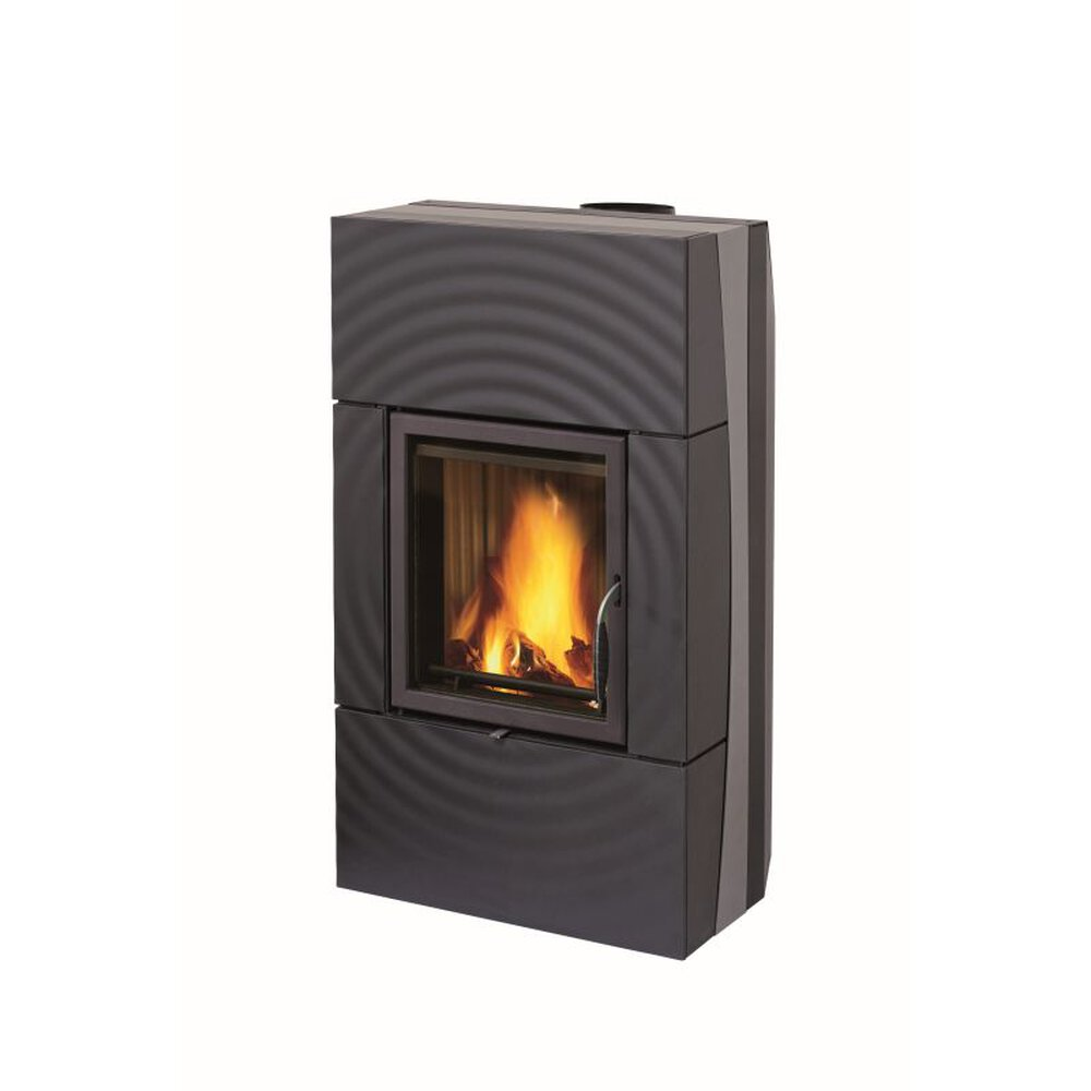 leda kaminofen fondia mit wassertechnik schwarz 12 kw kamin f nstig kaufen. Black Bedroom Furniture Sets. Home Design Ideas