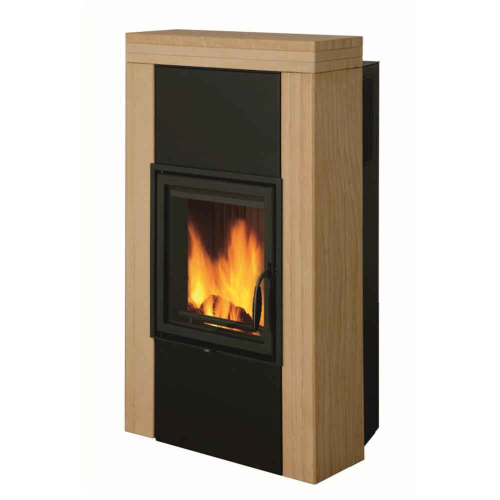 leda kaminofen sandia 1003 01263 glo24. Black Bedroom Furniture Sets. Home Design Ideas