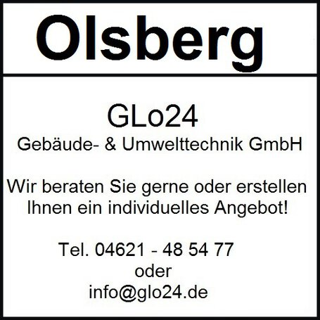 Olsberg Tacora Compact Glasscheibe, Glas - 23/5961.2000