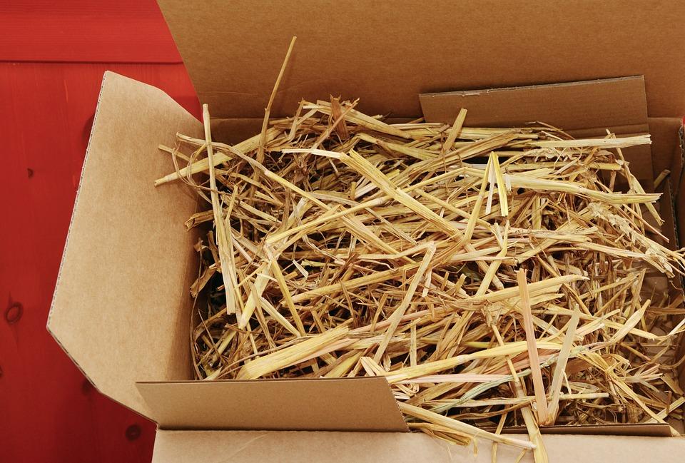 Stroh Verpackung Nachhaltigkeit